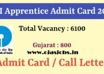 SBI Apprentice Admit Card 2021 | SBI 6100 Apprentice Admit Card 2021 Out